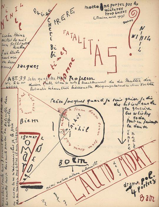 Bezette Stad. 1921 book of Dada poems by Paul van Ostaijen