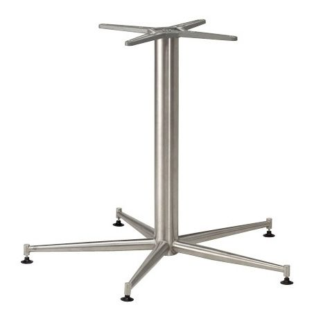 Five Leg Stainless Steel Table Base
