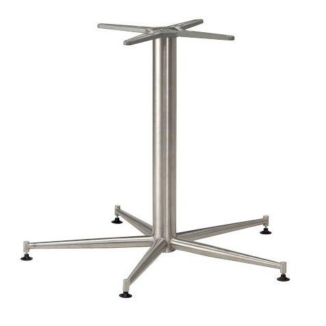five leg stainless steel table base - Pedestal Table Base