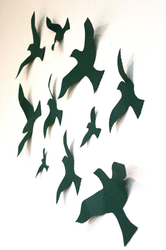 29 best images about on pinterest molde black gel nails - Bird Wall Decor