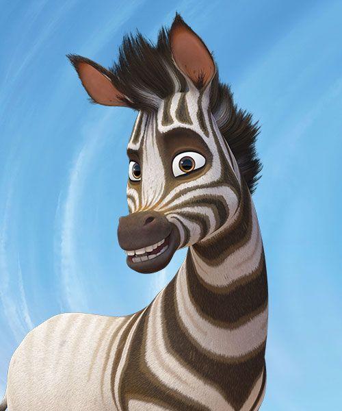 Khumba voiced by Jake T. Austin