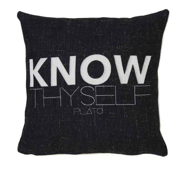 Know thyself - Plato