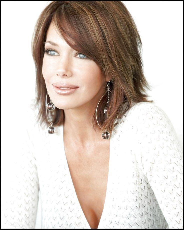 hairstyles for fine hair and round face -  - click on the image or link for more details.