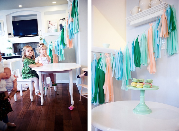 adorable banner... looks easy to make