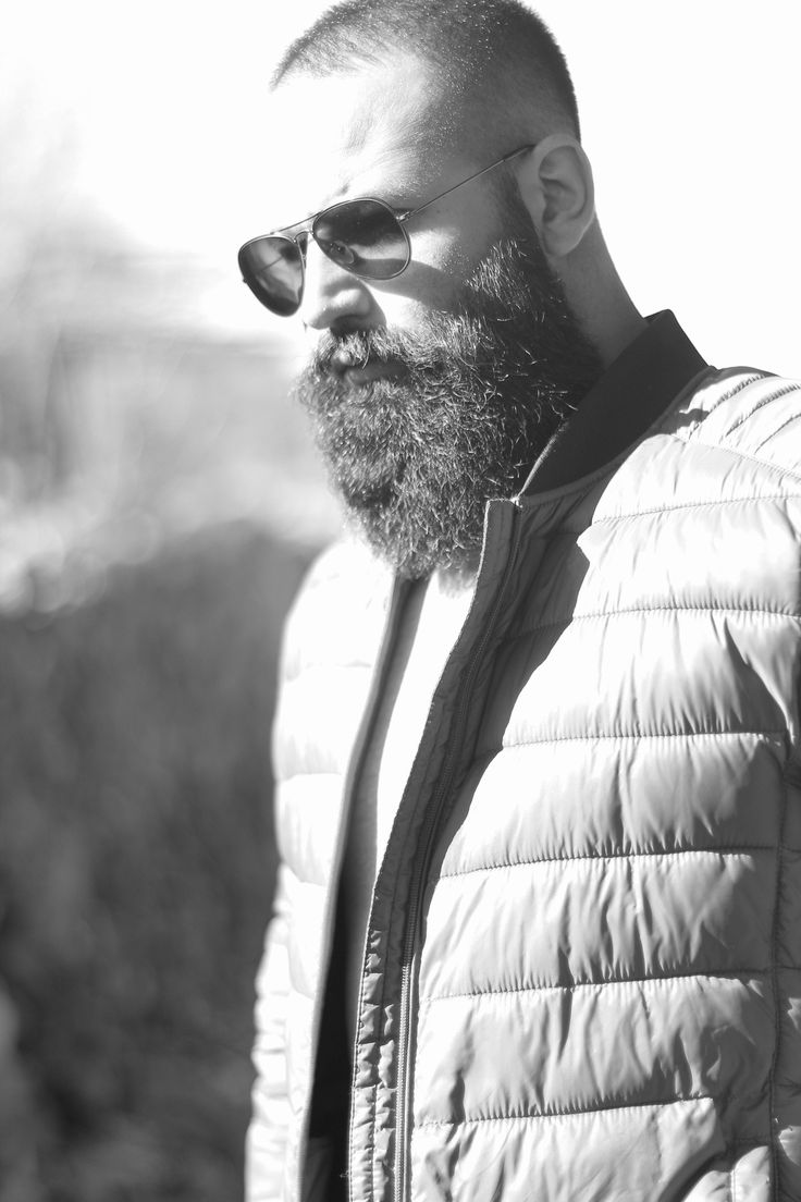 Self photoshoot. Beard Anatomy 101