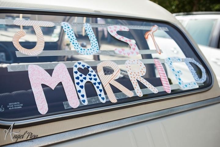 de la voiture de mariage idée voiture voiture balais deco voiture ...