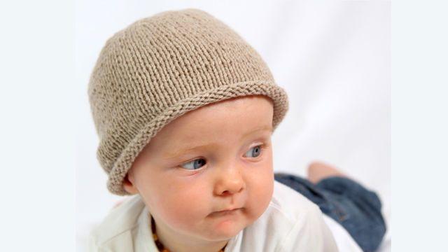 Erstlingsmütze MARLENE, 2 Größen, 0-9 Monate - Strickanleitungen bei Makerist