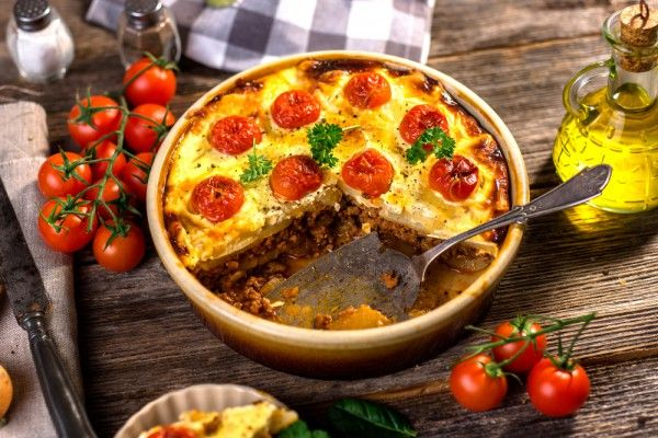 Классическая мусака с баклажанами, ссылка на рецепт - https://recase.org/klassicheskaya-musaka-s-baklazhanami/  #Кашиизапеканки #Рецептыдлядиабетиков #блюдо #кухня #пища #рецепты #кулинария #еда #блюда #food #cook