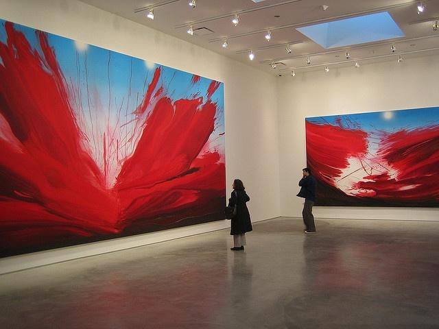 Barnaby Furnas paintings Marianne Boesky Gallery