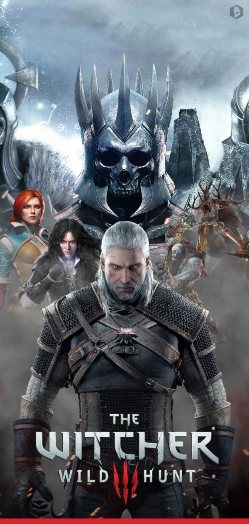 This is a poster used for advertisement of the game. It has the women (except Ciri) of the game pictured, which is surprising since they usually just sell Geralt the protagonist.