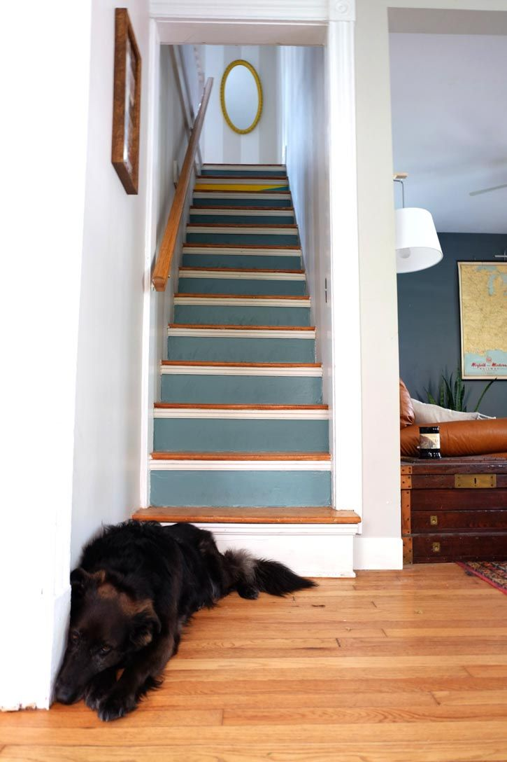 55 best Painted staircases images on Pinterest Painted