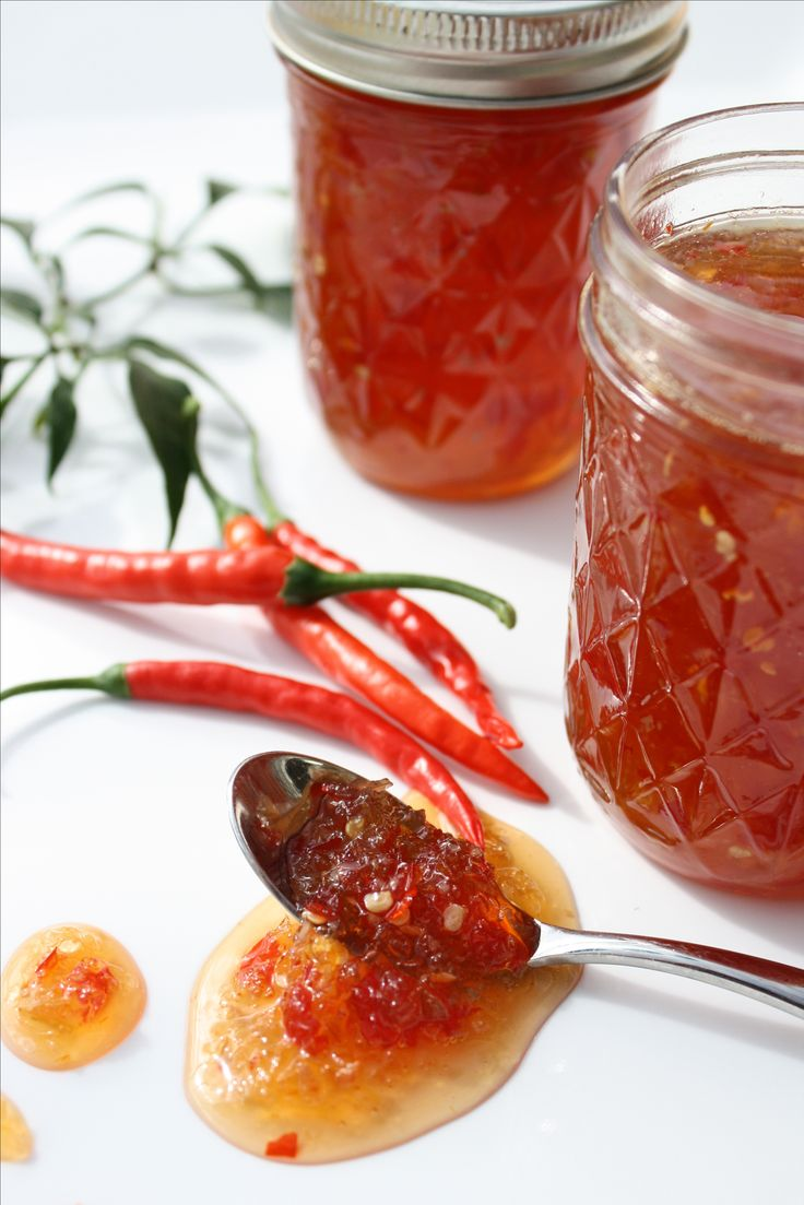 Bring some spice to your life by making your own sweet chilli sauce.