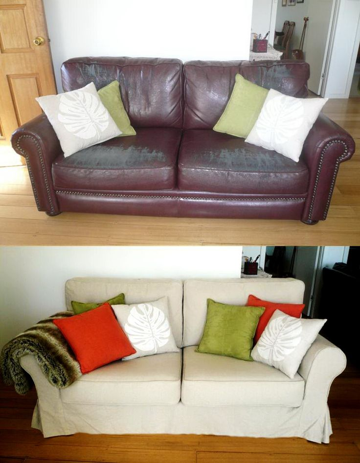 The 25+ Best Leather Couch Covers Ideas On Pinterest | Diy