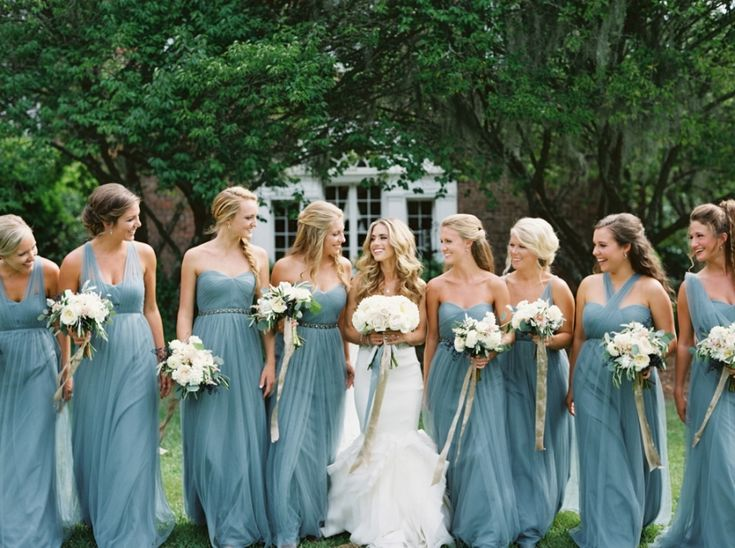 284 Best Images About REAL WEDDINGS (BRIDESMAIDS) On