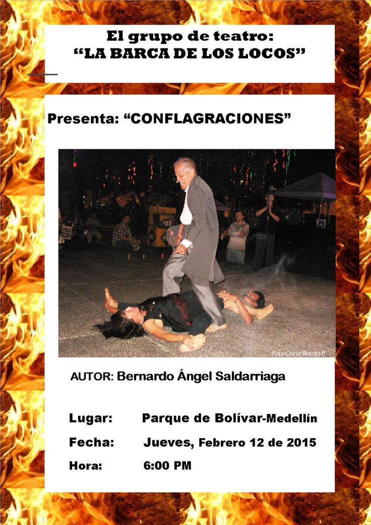 """Obra Teatral """"Conflagraciones"""""""