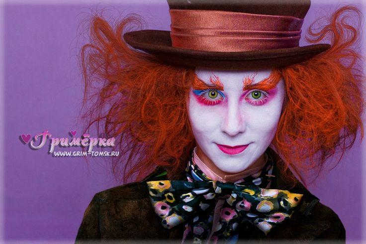 Аквагрим, грим, Шляпник face painting, make-up,  Hatter