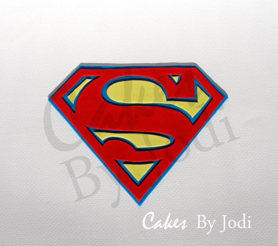 104 best images about superman logo 39 s on pinterest man for Superman logo template for cake