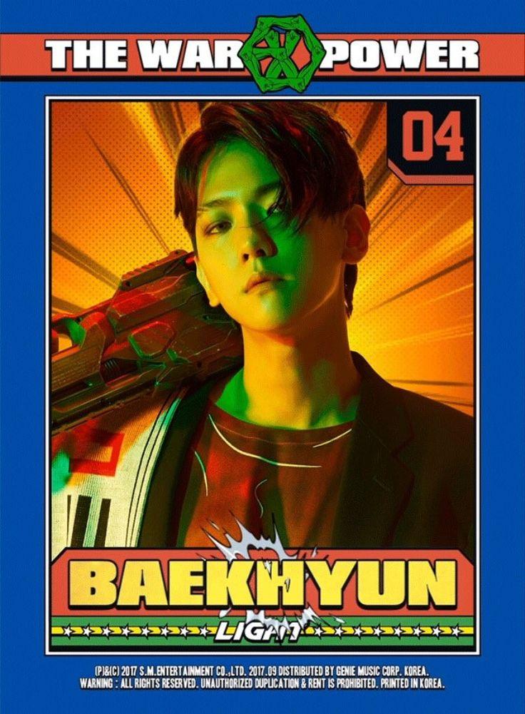 EXO • The War • The Power of music • Baekhyun