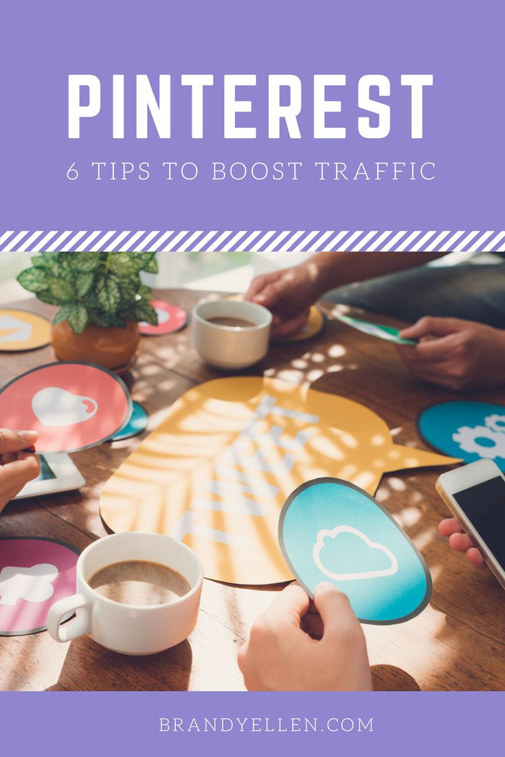 6 Tips for Boosting Blog Traffic with Pinterest via @brandyellen