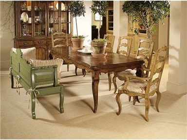 Town Country Dining Room Table Chairs Set From Century Furniture