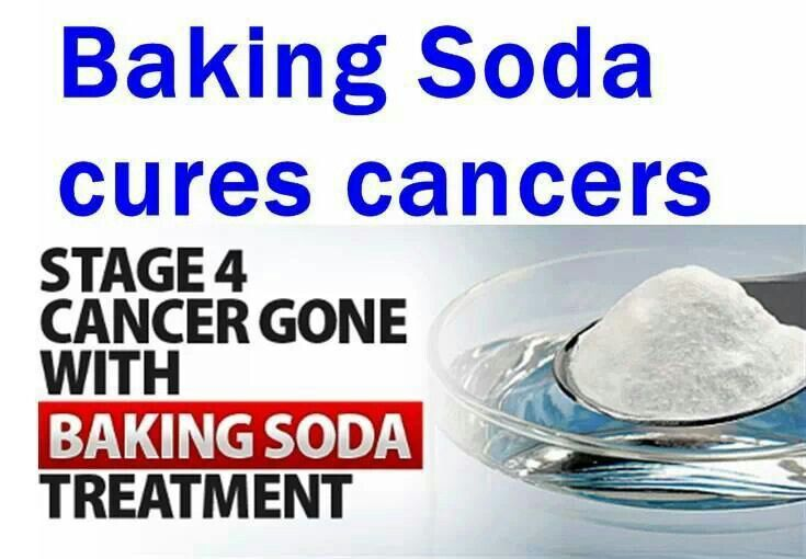 Cancer cure with baking soda