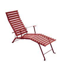 Chaise longue pliante BISTRO de Fermob, 24 coloris en vente sur le Guide de shopping TritOOshop