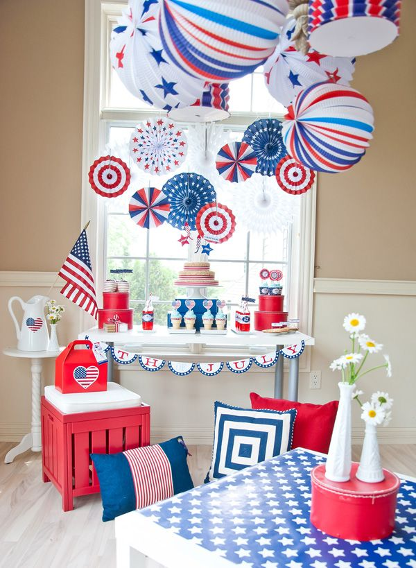 A Classic All American 4th of July Party