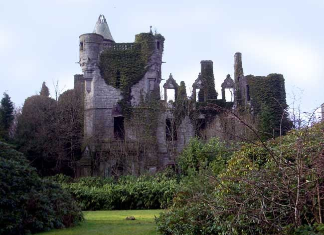 Buchanan Castle; the seat of Clan Graham in Scotland
