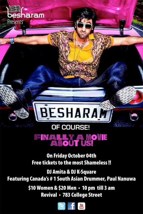 Besharam Presents Besharam of course ! Finally A Movie About Us !