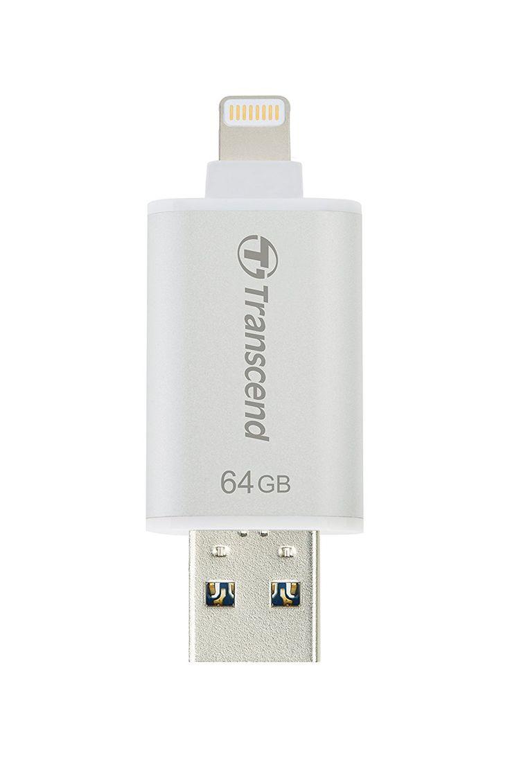 Das wird vor allem Apple Jünger freuen! Bei amazon gibt es denTranscend JetDrive Go 300S 64GB Lightning & USB3.1 OTG Stick für 45€ - der geizhals.at Vergleichspreis liegt bei 68,25€ inklusive Versand.   #Amazon #Apple #Elektronik #Lightning #Speicher #Stick #Transcend #USB