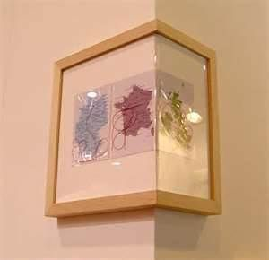 Contemporary Corner Picture Frames Decorating ...