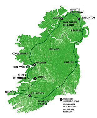 L'Irlande en 7 jours et plein de photos!