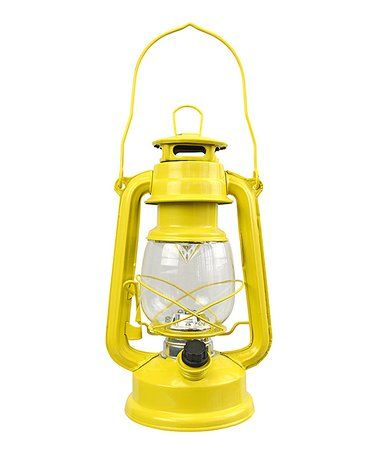 Love this Yellow Lantern on #zulily! #zulilyfinds
