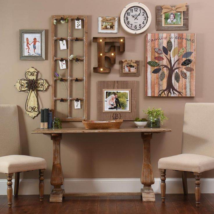 Kirklands Large Wall Decor : Make your family room a little more personal with items
