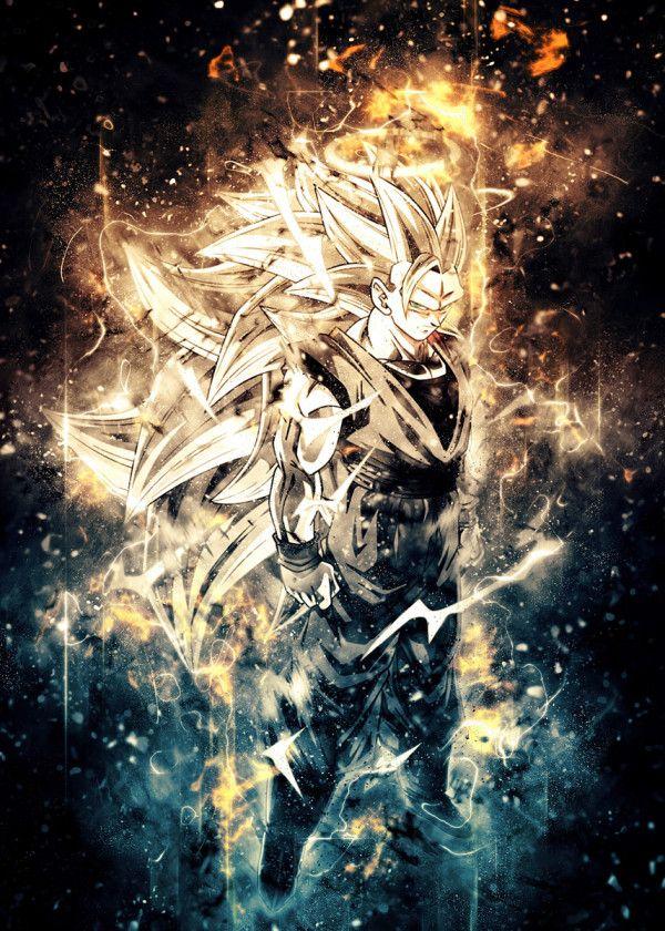 Goku Poster By Trần Văn Dũng Displate Dragon Ball Art Goku Anime Dragon Ball Super Dragon Ball Artwork