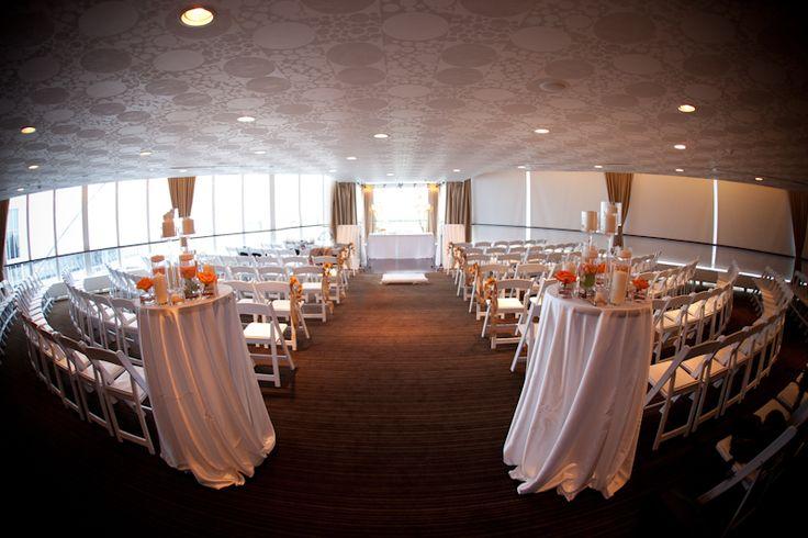 Atlantis Pavilions wedding reception