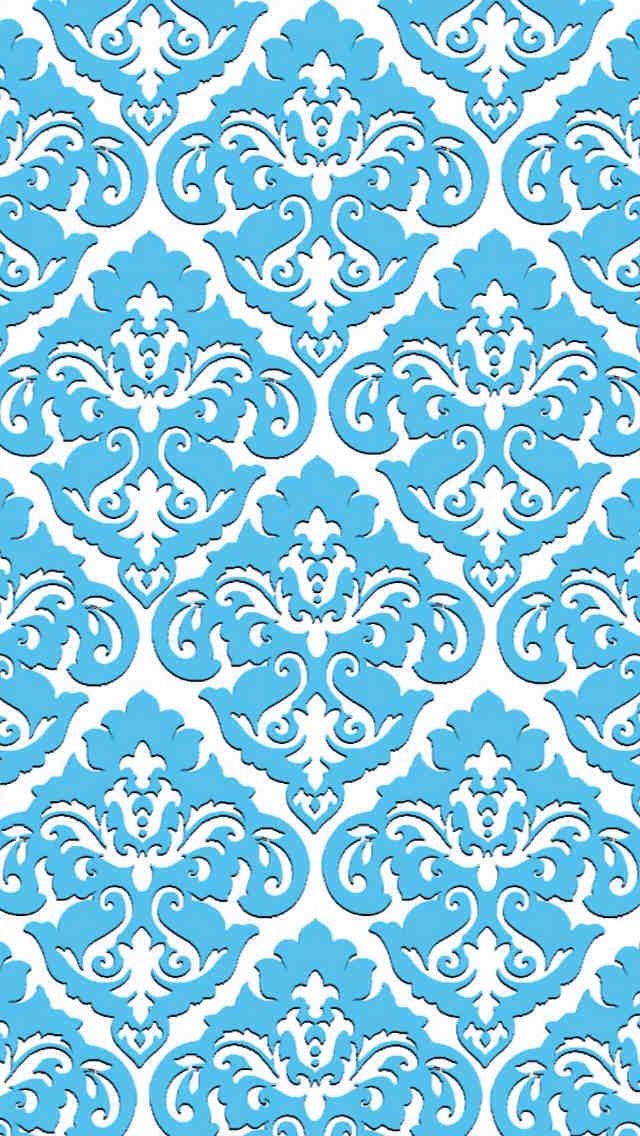 Light Blue Pattern IPhone Wallpaper