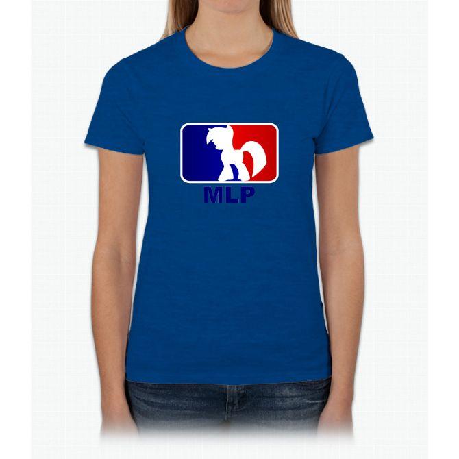 Major League Pony (MLP) - Twilight Sparkle Womens T-Shirt