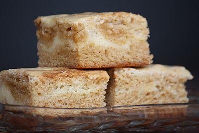 Cream Cheese Swirl BlondiesCream Cheese Brownies, Cooking Wednesday, Cheese Swirls, Brandy'S Baking, Chees Swirls, Sooo Versatile, Swirls Blondies, Terrible Yummy, Cream Cheeses