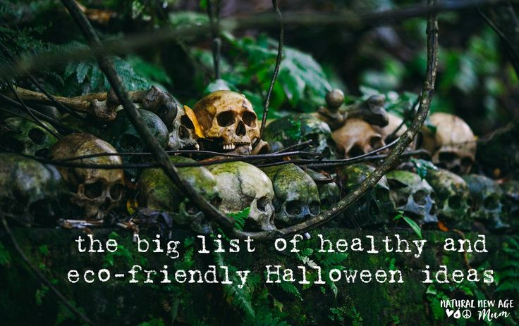 The big list of healthy and eco-friendly Halloween ideas