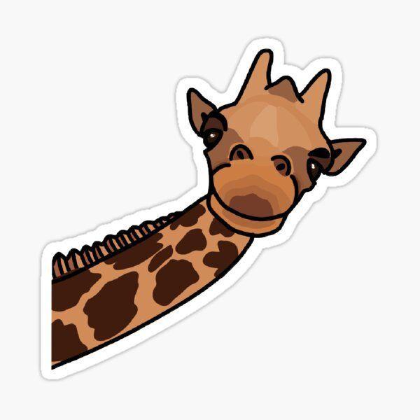 giraffe sticker by gabbyrani preppy stickers