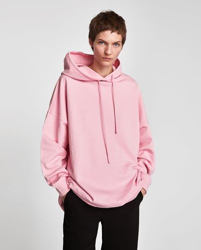 892015bd4b347 OVERSIZED FADED HOODIE-NEW IN-WOMAN   ZARA United States   Fashion ...