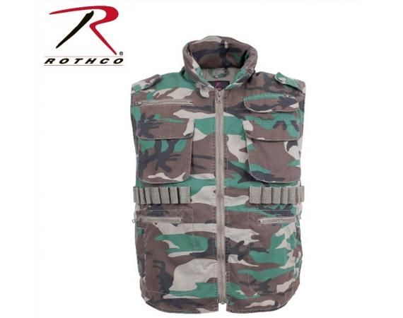 Woodland Camo Vintage Ranger Vests | Vermont's Barre Army Navy Store