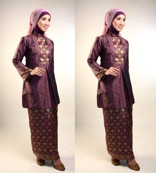 Kebaya muslim songket-5