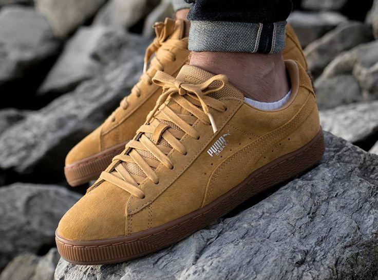 Notre avis sur la Puma Basket en daim marron plus robuste style Timberland 6 Inch Boot, un modèle homme (automne 2017).