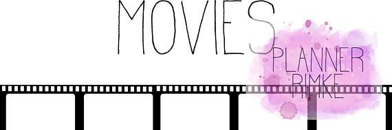 Film Tracker A5 - English Language