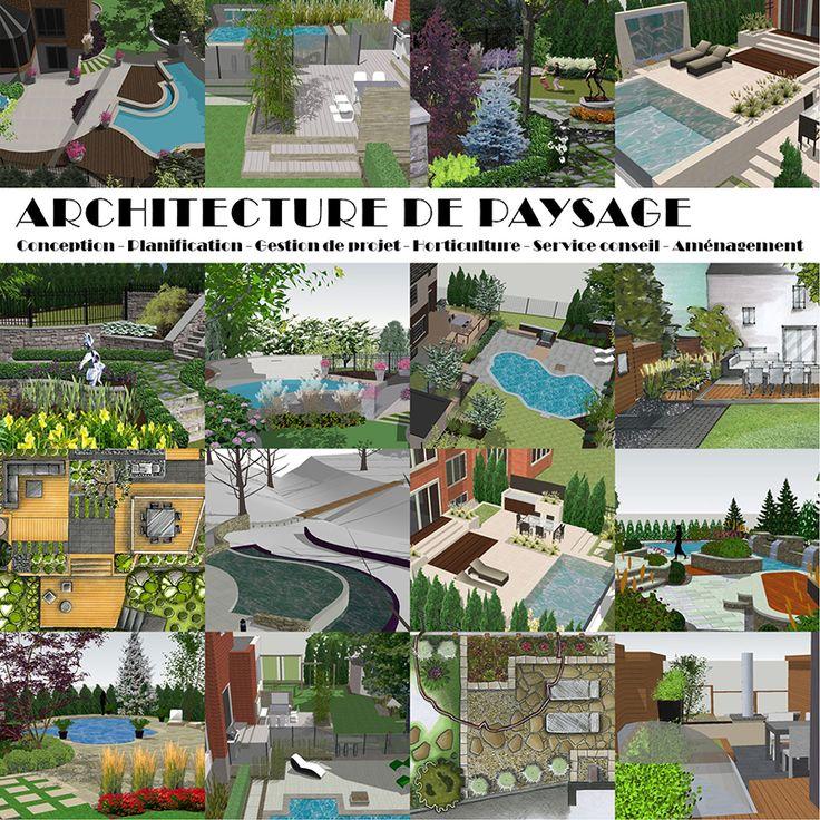 17 best images about portfolio simon leclerc designer for Architecture paysagiste