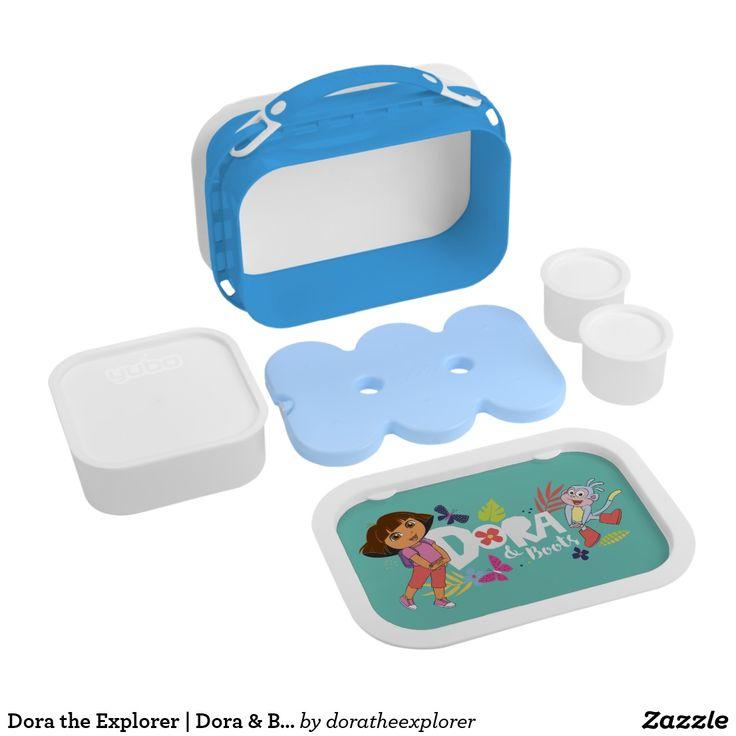 Dora the Explorer   Dora & Boots. Producto disponible en tienda Zazzle. Product available in Zazzle store. Regalos, Gifts. #lonchera #LunchBox