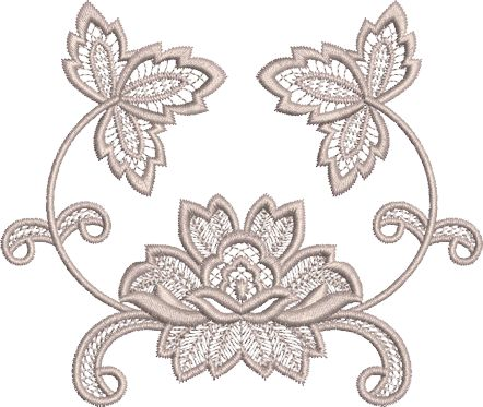 Sue Box Creations | Download Embroidery Designs | 32 - Fleur