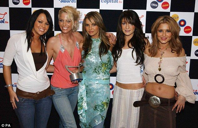 Flashback Friday: Whilst Cheryl (R), Kimberley (L) and Nicola's (second right) friendship ...